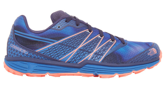 The North Face Litewave TR Shoes Women patriot blue print/tropical coral